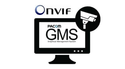 Pacom GMS ONVIF integration security solution | Security Management