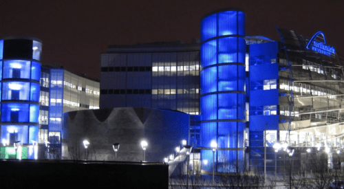 multi-site access control solution | Northumbria university