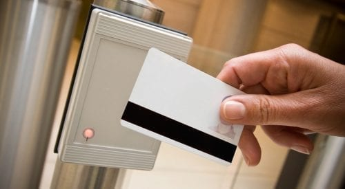 card reader for access control security