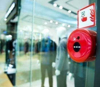 fire alarm systems that offer security management