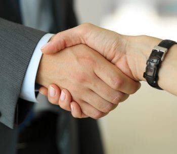 shaking hands | Approved integration partners
