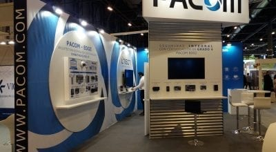 PACOM exhibition at IFSEC