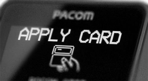 pacom 8708 card reader