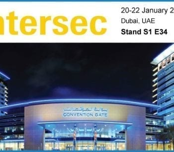 Intersec exhibition poster 20-22 January 2019 Dubai PACOM attending
